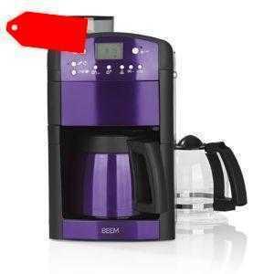 BEEM Duo Filter Kaffeemaschine Mahlwerk Filterkaffeemaschine...