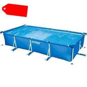 Schwimmbad Swimming Pool Intex Frame Pool Family 28273NP 450x220x84cm *Intex*