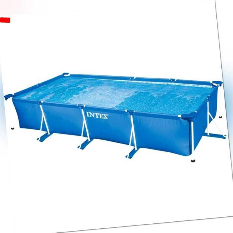 Schwimmbad Swimming Pool Intex Frame Pool Family 28273NP 450x220x84cm *Intex*