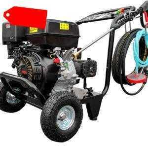 Benzin Hochdruckreiniger 13 PS Dampfstrahler Dampfreiniger 250 bar Arbeitsdruck!