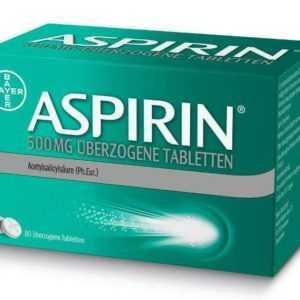 Aspirin 500 mg überzogene Tabletten 80 St PZN: 10203632