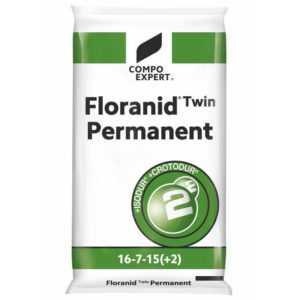 Compo Twin Floranid Permanent 25 kg Universaldünger NPK 16+7+15 Rasendünger