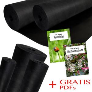 Unkrautvlies Gartenvlies Bodengewebe Beetvlies Unkrautfolie Vlies 50 100 150g/m2