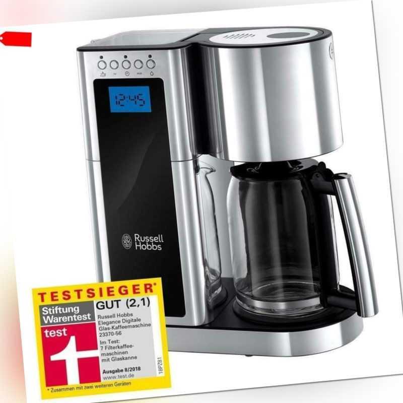 Russell Hobbs, Kaffeemaschine Elegance 23370-56 Schnellheizsystem...