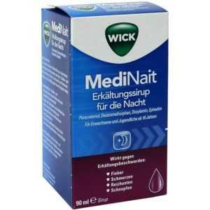 Wick MediNait Erkältungssaft für die Nacht   90 ml   PZN2702315