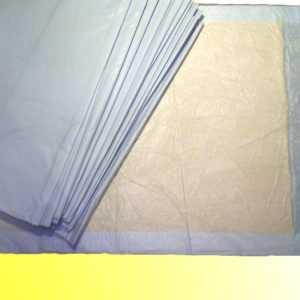 200 ca. 40 x 60cm 6-lag Krankenunterlagen Wickelunterlagen Welpenunterlagen
