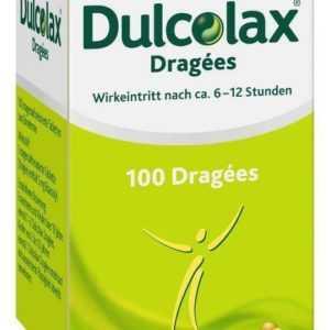 Dulcolax Dragées 5 mg magensaftresistente Tabletten Dose 100 St PZN: 6800196