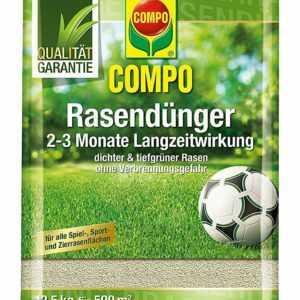 COMPO Rasen-Langzeitdünger 12,5kg für 500 m²