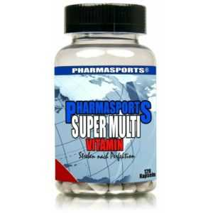 Pharmasports Super Multi Vitamin - 120 Kapseln Vitamine Mineralien Spurenelement