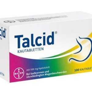 Talcid Kautabletten 100 St PZN: 1921682