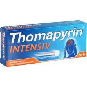 THOMAPYRIN INTENSIV Tabletten   20 st   PZN624605