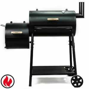 TAINO Smoker BBQ Grillkamin Räucherofen Holzkohle Grill Räuchern Holzkohlegrill