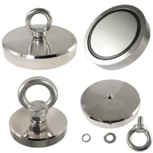 Neodym Bergemagnet Magnetangeln Angel Magnete 80 Kg bis 600 Kg Topfmagnet Öse
