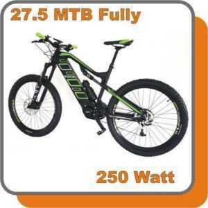 MTB Mountainbike Carbon Fully E-bike Phantom 250W Mittelmotor 36V 17,0ah Akku