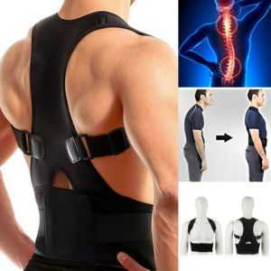 Rückenbandage Rückenhalter Haltungskorrektur Geradehalter Stabilisator Gürtel
