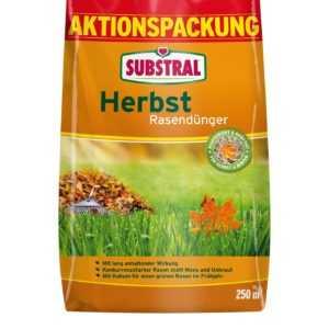 SUBSTRAL® Herbst-Rasendünger 6,25 kg für 250 m²