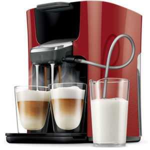 PHILIPS Senseo Latte Duo HD7855/80 Kaffeepadmaschine...