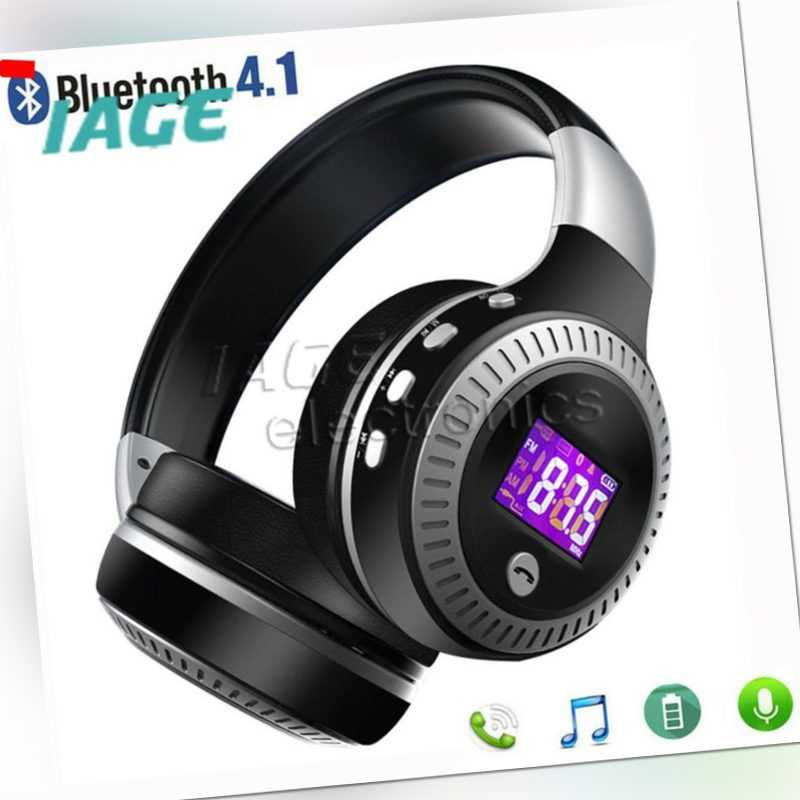 Drahtlose Bluetooth-Kopfhörer Faltbare Kopfhörer Super Bass Stereo Headset