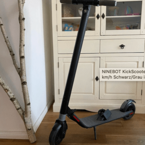 NINEBOT KickScooter ES1 E-Scooter 25 km/h ca. 25 km - Schwarz/Grau NP:379€
