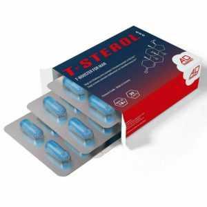 T-STEROL 600 - Testosteron Booster - Hochdosiert Anabol PCT Steroid Alternative