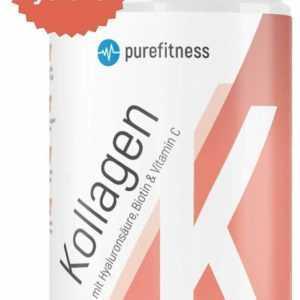 Collagen Pulver mit Biotin Vitamin C Hyaluron Kollagen Hydrolysat 450g
