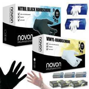 Handschuhe Nitril Vinyl Latex 100st. gepudert oder puderfrei Einmalhandschuhe