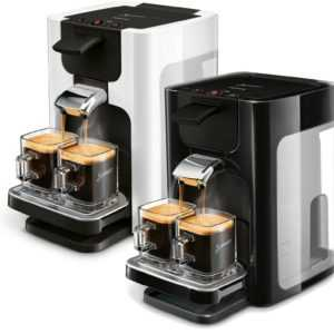 PHILIPS SENSEO® Quadrante HD 7865 60 00 Kaffeepadmaschine schwarz...