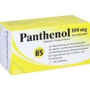 PANTHENOL 100 mg Jenapharm Tabletten 100 St PZN 6150835