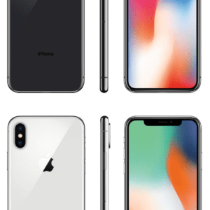Apple iPhone X 64GB Smartphone ohne Simlock silber spacegrau