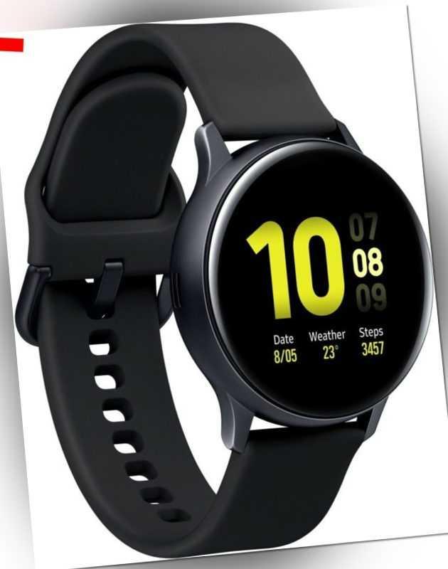 Samsung SM-R830NZ Galaxy Watch Active 2 Alu 40mm aqua black Sportuhr