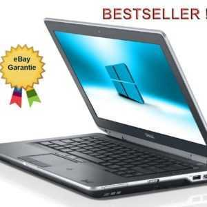 PREMIUM  DELL NOTEBOOK LAPTOP CORE i5-2520M  2,0 GHz 14,1 WLAN 4GB WIN10