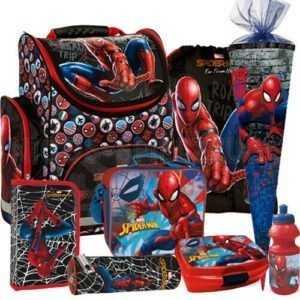 Spiderman Marvel Spinne Schulranzen Tornister Ranzen Set Schultüte