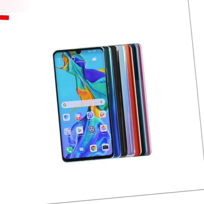 Huawei P30 Pro 128GB / Black Aurora Breathing Amber Blue Lavender...