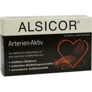 ALSICOR mit Kakao Flavanolen Kapseln   60 st   PZN4682031