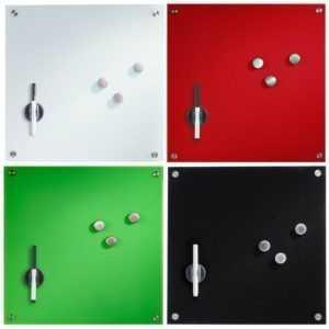 Glas Memobord Magnettafel Whiteboard Schreibtafel Tafel Wandtafel Stift Magnet