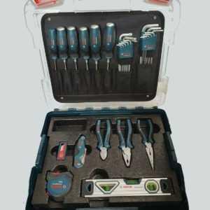 Bosch Professional Profi Koffer Set 40 teilig Schraubendreher Wasserwaage uvm.