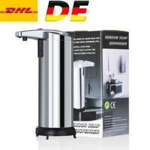 1-7er Desinfektionsmittelspender Automatik Hygiene Seifenspender Infrarot Sensor