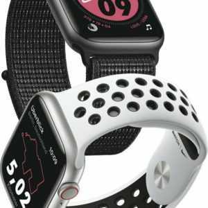 Apple Watch Nike+ Series 5 GPS 40 mm Alu space grey, Sport anthraz/black