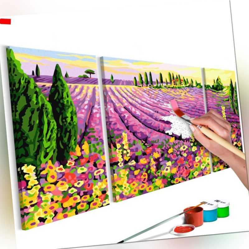Malen nach Zahlen Erwachsene Wandbild Malset mit Pinsel Malvorlagen n-A-0224-d-e