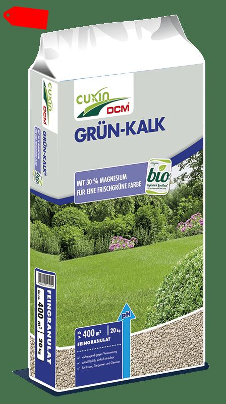 20kg CUXIN Rasen Grün Kalk Grünkalk Magnesium Rasenkalk Granulat hochwertig