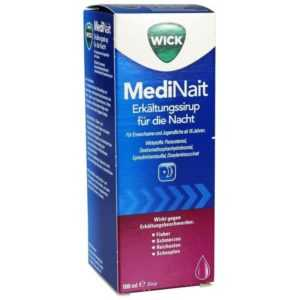 Wick MediNait Erkältungssaft    180 ml    PZN1689009