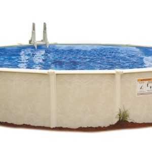 Stahlwand Pool Sunlake Ø ca 550cm Komplettset Außenpool Schwimmbecken Schwimmbad