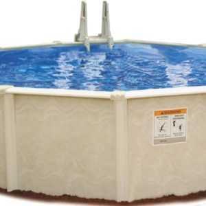 Stahlwand Pool Sunlake Ø ca 460cm Komplettset Außenpool Schwimmbecken Schwimmbad
