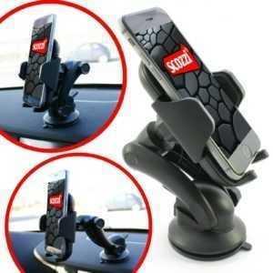 scozzi®Handyhalterung Auto Armaturenbrett Halter KFZ Handy Universal Halterung