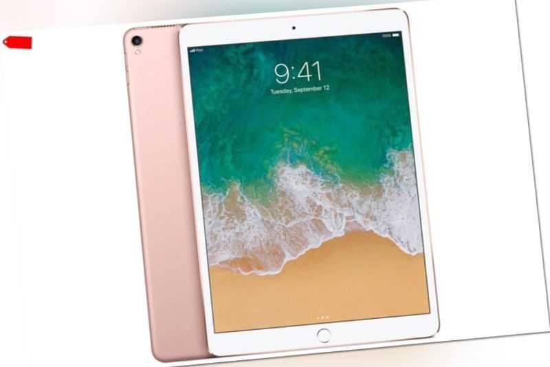 Apple iPad Pro 2. Generation A1709 2017 Wi-Fi + Cellular 64GB Rosé Gold OVP