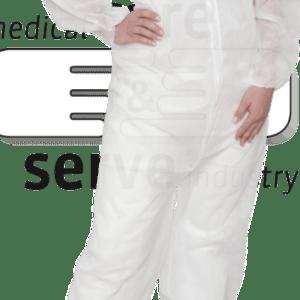 PP- Overall Einweganzug, Maleranzug, Einmalanzug mit Kragen Größe L