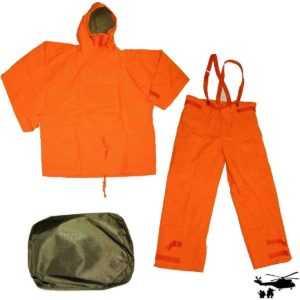 ABC BW Overgarment ABC Schutzanzug THW orange neuwertig Sandstrahl Anzug