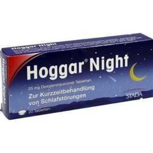 HOGGAR Night Tabletten 20 St PZN 4402066