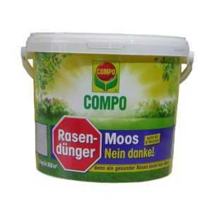 Compo Rasendünger Moos - Nein danke! 7,5 kg Dünger + Moosvernichter