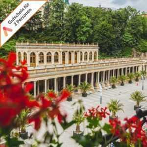 Wellness Kurzreise Karlsbad Tschechien 2 Personen ASTORIA Hotel 3 oder 4 Tage